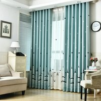 window curtains for kids living room bedroom modern pattern with star castle tulle blackout curtain for window decoration