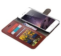 Wholesale Galaxy Note Flip Leather - New Case For iPhone 7 6S Plus Vintage Retro Flip Stand Wallet Leather Case Phone Back Cover For Samsung Galaxy S8 plus S6 S7 Edge Note 3 4 5