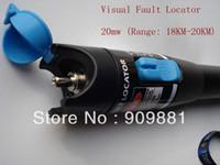 Wholesale Fiber Optic Factory - Factory Price High Quality 10pcs lot 20MW Red Laser Fiber Optic Cable Tester-Range 18KM-20KM Visual Fiber Optic Fault Locator