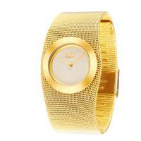 quartz movt relógios venda por atacado-Atacado-2015 Ladies Full Steel relógio pulseira de ouro, Japão Movt relógio de quartzo, mulher vestido de pulso