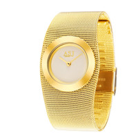 Wholesale Japan Bracelet Watch - Wholesale-2015 Ladies Full Steel Gold Bracelet Watch, Japan Movt Quartz Watch, Woman Dress Wristwatch