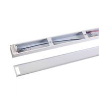 iluminación de soporte fluorescente al por mayor-900mm T8 soporte LED AC85-265V lámpara fluorescente stent led tubo lámparas iluminación t8 lámpara portalámparas conjunto completo de
