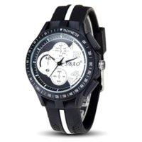Wholesale Korean Fashion Sport - High Quality Men Sports Watches Korean Fashion Students Watch Men Racing Soft Rubber Strap Quartz Watch Wristwatches Clock Male