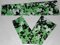 Wholesale black digital camo arm sleeve for sale - Group buy digital camo Sports Compression Arm Sleeves Youth Adult Baseball Football Basketball neon green black and white DHL Free