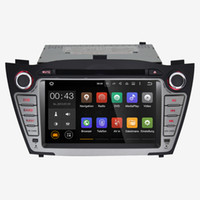 Wholesale Dvd Auto Gps Tv - Joyous Quad Core Android 4.4 Car DVD Player Car Radio Hyundai IX35 Tucson Stereo GPS Navigator auto Radio Audio 1024*600(with canbus)