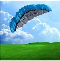 Wholesale Nylon Stunt Parafoil Sport Kite - 2016 NEW 2.5 m 2 ligne Stunt Parafoil POWER Sport Kite A