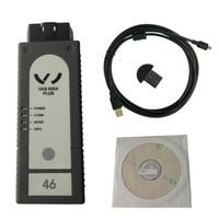 Wholesale Vw Uds Diagnostic - New VAS 5054 Plus ODIS V3.0.3 Bluetooth with OKI Chip Support UDS Protocol Multi-languages Car Diagnostic Tool