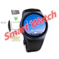 Wholesale Heart Monitor Watches For Men - LEMFO LF18 bluetooth smart plug-in watch sports men and women support location-based heart rate monitoring clock watch