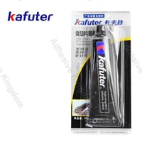 Wholesale Construction Hardware - New 85g kafuter silicone free spacer black rubber k-586 upgraded engine mechanical hardware sealant high temperature