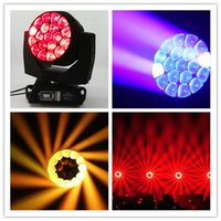 Wholesale Led Move Head 15w - DMX512 LED BEAM Moving Head Bee Eyes for 19 X 15W rgbw 4 in 1 LED B-Eye 19 K10 Stage Light