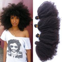 Wholesale 2016 Best Brazilian Kinky Curly Virgin Hair Afro Kinky Curly Bundles A Brazilian Virgin Hair Cheap Human Hair Extensions