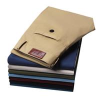 Wholesale Elegant Mens Pants - New Hot Sale Men's Pants Casual Straight Pants Men Slim Fit Elegant Classic Longs Mens Causal Trousers