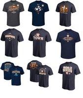 Wholesale Names T - MLB Houston Astros 2017 National League Champions Verlander MVP T-shirt Jose Altuve any custom Name & Number T-Shirt