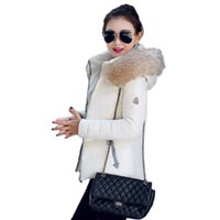 Wholesale Qiu Dong Jacket - Wholesale-Women's 2016 Winter Jacket Down Cotton-padded Jacket Female Female Fashion Qiu Dong Hooded big Yards Short Cotton winter