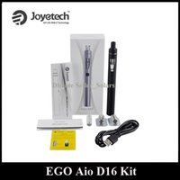 Wholesale Ego Refills - Original Joyetech EGO AIO D16 Kit Top Refilling 2.0ml All IN One Style Starter Kit DHL Free