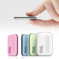 gps etiketleri toptan satış-100% Orijinal Hakiki Resmi SOMUN 2 Mini Akıllı Etiket Bluetooth 4.0 Izci Çocuk Pet Anahtar Bulucu Anti-kayıp GPS Bulucu Alarm