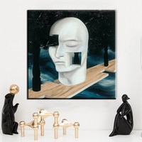 Wholesale Morden Wall Painting - ZZ2016 memory 1948 by rene magritte artist morden arts print wall painting on canvas oil painting for bed room no frame