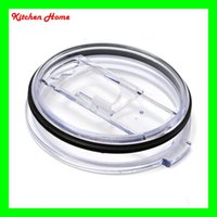 Cheap plastic YETI Spill proof Lids Best transparent color  YETI Leakproof lids