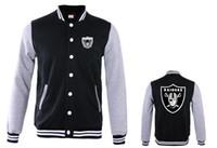 Wholesale Leather Sweatshirt Men - Free Shipping 2017 men Leather Sleeve Fleece Baseball Jacket Single-breasted Coat Plus velvet hip hop hoodies Sweatshirt