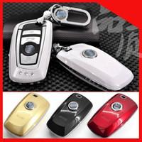 Wholesale Bmw 328i - ABS plastic metal car key case for bmw F10 F20 F30 NEW 1 2 3 4 5 6 7 series 116I 120I 320I 328I 530I X1 X3 X4 118I