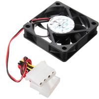 ventilador pc 12v venda por atacado-Atacado-4Pin DC 12V 60 milímetros x 60 milímetros x 15MM Computador CPU Cooler Fan Cooling PC
