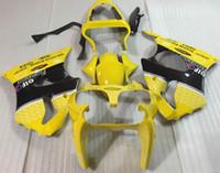 Wholesale Yellow Zx6r - 3 Free Gifts New Injection Mold ABS Fairing Kits for Kawasaki Ninja ZX6R 6R 636 2000 2001 2002 nice yellow