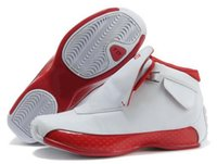 Wholesale 18 Snow - Retro 18 Men Basketball Sneakers Sports Shoes High Top Shoes Men White Red Blue Black Outdoor Shoes 40-47