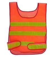Wholesale design works coats online - New design Visibility Reflective Safety Vest Coat Sanitation Vest Traffic Safety warning clothes vest Safety working mesh waistcoat clothes