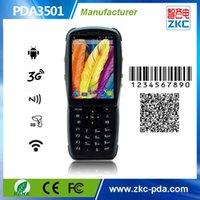 affichage du lecteur de carte achat en gros de-Vente en gros - Lecteur de cartes à puce sans contact avec poche Android, RFID Reader avec écran 3G PDA sans fil wifi bluetooth ZKC PDA3501