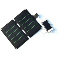 Wholesale super solar charger resale online - 11W V Foldable Solar Panel Charger Super Slim Solar Cell Charger Universal Travel Solar USB Charger High Quality