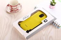Wholesale Iface Case For S3 - shockproof Tpu + pc hybrid iface mall soft tpu back cover for samsung S3 S4 S5 note 4 5 s6 edge with retail package