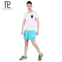 Wholesale Mens Tennis Clothing - Wholesale-Tailo Pal Love Mens Sport Short Beach Tennis Board Short Keen Mens Clothing Surf Clothes American Style Clothing