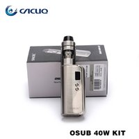 e cigs Vape Authentic Smok Osub 40W tc Комплект с 1350mah OSUB 40W TC Mod Шлем Mini ecigarette Испаритель Smoktech E Сигарета