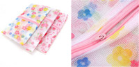 Wholesale Clothes Bags Cheap Wholesale - Nylon Printing Underwear Mesh Bag Cheap and Beautiful Retail Polyester Filber Washing Clothes 50*60cm Shipping Online Simple Other Products