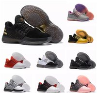 Wholesale History Fashion - Hot Harden Vol. 1 BHM Black History Month Mens Basketball Shoes Fashion James Harden Shoes Outdoor Sports Training Sneakers Size 40-46