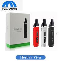 Wholesale Dry Herb Vaporizer Pen Wholesale - Authentic Airisvape Herbva Viva Vaporizer 2200mah Dry Herb Vaporizer Airis Kit Temperature Control Premium Vape Pen Kit 100% Original