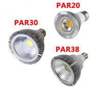 Wholesale Downlight Led Cob 25w - Dimmable Led bulb spotlight par38 par30 par20 85-265V 10W 20W 25W E27 par 20 30 38 LED Lighting Spot Lamp light downlight