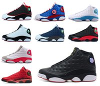 Wholesale Army Games Online - [With Original Box]2017 Air Retro 13 XIII men women Basketball Shoes red Bred He Got Game Black Sneaker Sport Shoes Online Sale