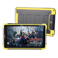 Barato Android Tablet Pc Bateria-Original Rugged Tablet PC K8000 7 polegadas 1024 * 600 MTK6572 dual core de 1 GB 8 GB Dual SIM GPS 3G phablet à prova de choque Big Battery