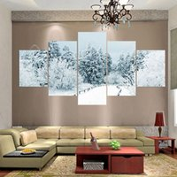 Wholesale 5 Piece Canvas Art No Frame Oil Painting Picture Wall Pictures For Living Room Cuadros Decoracion Pintura Painting Picture