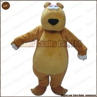 Wholesale Cheap Plus Size Teddies - bear mascot costume EMS free shipping, cheap high quality carnival party Fancy plush walking Teddy bear mascot cartoon adult size.