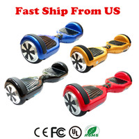 Hoverboard Smart Balance Wheel 6.5 polegadas Self balacing Scooters Electric Hover Board Balance 6.5 '' Multicolor US Stock On Sale Drop Shipping
