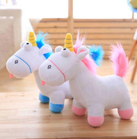 Wholesale toy goats for sale - Group buy 35 cm Unicorn Plush animal Toys goat plush toys Christmas Gifts for Baby Girls Soft Plush Doll Fluffy Toy Gift KKA2874