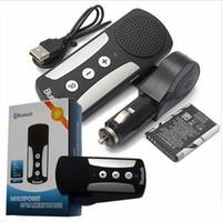 reproductor de mp3 del altavoz del coche de la música al por mayor-2017 a estrenar 4 en 1 multifuncional mini bluetooth altavoz inalámbrico de manos libres para el coche con micrófono reproductor de música MP3 para iphone samsung