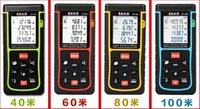 Wholesale Infrared Ruler - Wholesale-infrared laser range finder electronic measuring tape ruler handheld meter room 80m tester Distance Area volume angle tool