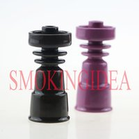 Wholesale Ceramic Glazes Free Shipping - 19 14Female Somking Bowl Made of Glaze Ceramic For Water Pipe 2wheels Design Colored Ceramic Shipping Free 2pc lot