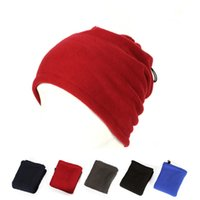 Wholesale Cheapest Price Ring - Cheapest Prices Polar Fleece Neck Warmer Snood Multi-function Scarf Hat Unisex Thermal Ski Wear cap Snowboarding Bicycle