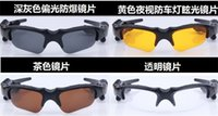Esportes Stereo Wireless Bluetooth 4.0 Headset Telephone Polarized Driving Sunglasses / mp3 Riding Eyes Glasses