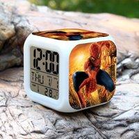 Wholesale Spider Man Digital Alarm Clock - New Spider Man Creative Led Alarm Clock Digital Desk Alarm Clock Led Alarm Clock with Calendar Snooze