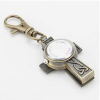 Wholesale Titanium Watch Moon - Arrival Free Shipping Fashion Men Wamen The Cross Patttern Alloy Analog Quartz Keychain Watch Manufacturers'Direct Sales19307#